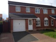 semi detached house for sale in Bankside Close, Ryhope...