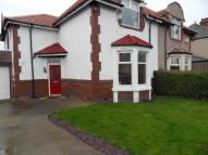 semi detached home in Rosewood Crescent...