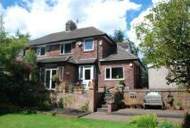semi detached home in Bury Road, Bamford