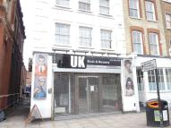 Shoreditch High Street Commercial Property to rent