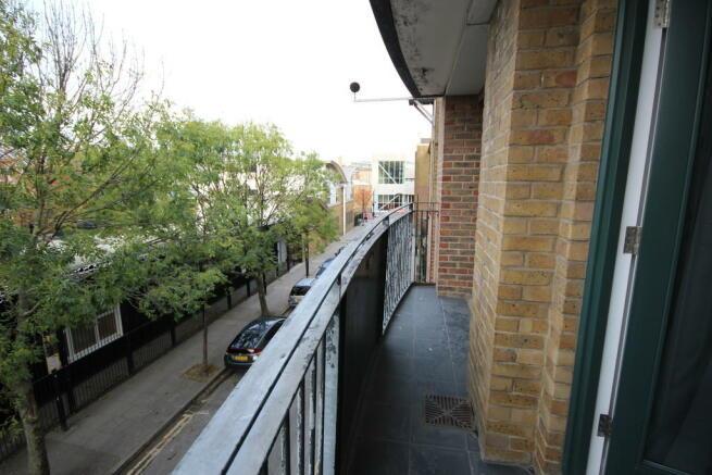 Balcony From Bedr...