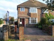 semi detached home to rent in Bowood Avenue, Eastbourne