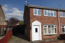 semi detached home to rent in Goodwood, Scunthorpe...
