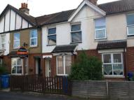 Terraced house in York Road, Farnborough...