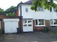3 bedroom semi detached house in LONGMORE ROAD, SHIRLEY