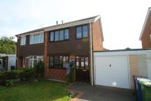 semi detached property for sale in Alnwick Close, Cannock
