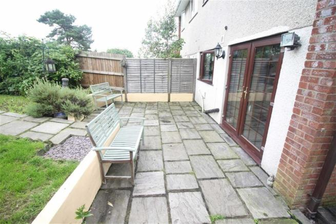 Rear Garden/ patio