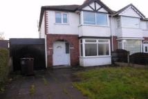 Marshall Road semi detached property to rent