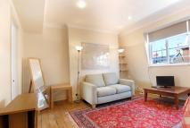 Studio apartment in Wyndham Street, London...