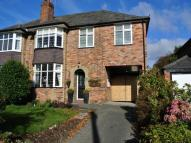 5 bed semi detached home in Windsor Avenue, Wilmslow...