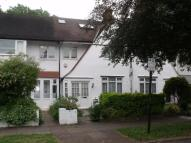 Terraced house in Princes Avenue, Acton...