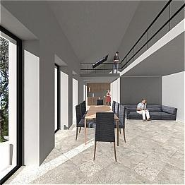 Proposed Living Area
