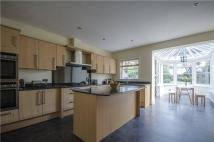 4 bed Detached house in The Crescent, Weybridge...