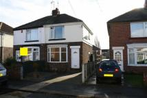2 bed semi detached house in Shakespeare Avenue...