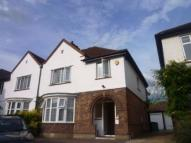 semi detached property in Lionel Road North...