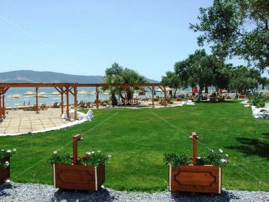 google map location of beach villas in akbuk