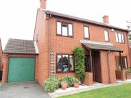 semi detached home in Harefields Close...