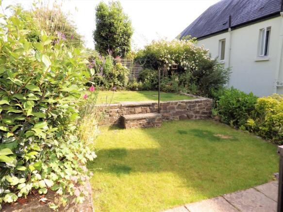 Rear Terraced Garden