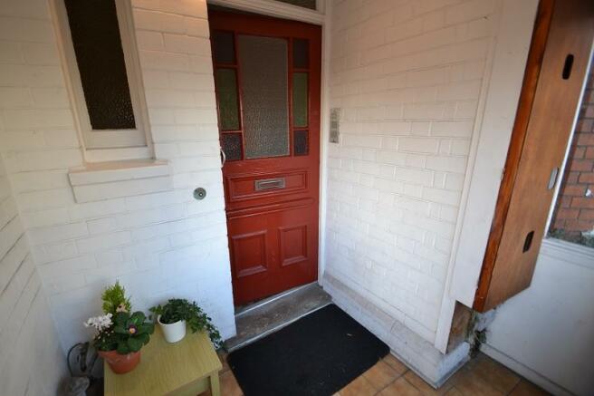 Communal Entrance Porch