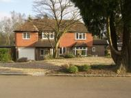 Detached property for sale in Ruxley Crescent, Claygate