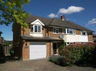 semi detached home in Denman Drive, Claygate