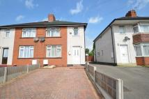 3 bedroom semi detached property in Laburnum Avenue, Cannock...