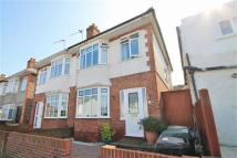 semi detached house in Luther Road, Winton