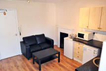 Studio flat in Matheson Road...