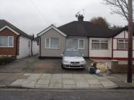 Semi-Detached Bungalow in Sandown Way, NORTHOLT...
