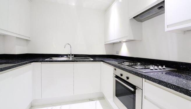 The photographs depict a typical flat