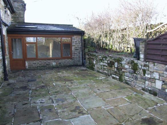 Rear Paved Area
