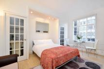 Hallam Street Studio apartment to rent