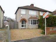 semi detached home to rent in Doghurst Avenue...