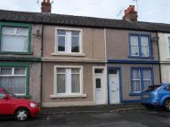 Terraced property in Napier Street...