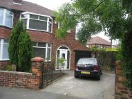 Egerton Road South semi detached house to rent