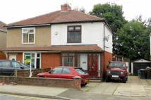 semi detached home for sale in Bolton Road West...