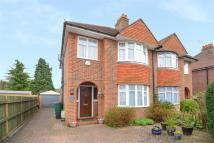 3 bed semi detached home for sale in Chestnut Avenue...