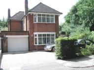 4 bed Detached home in South Lodge Crescent...