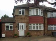 3 bed semi detached house in Langford Crescent...