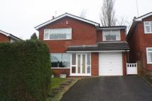 4 bedroom Detached property to rent in Beatty Drive, Congleton