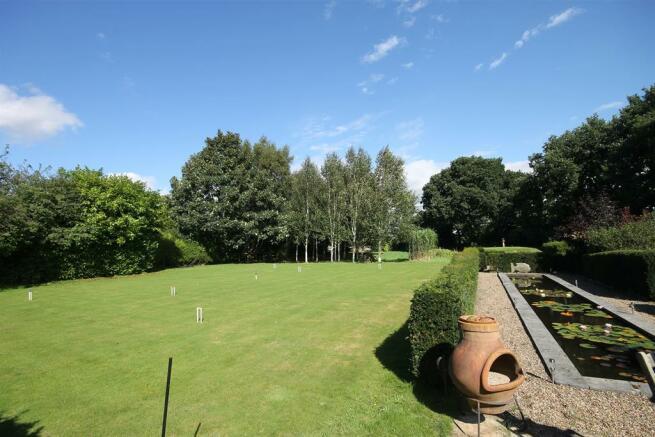 Croquey lawn