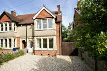 semi detached house in Bainton Road...
