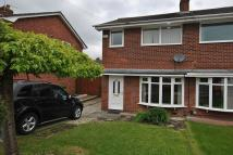semi detached house in Mallard Crescent, Poynton