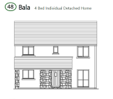 Bala new house for sale