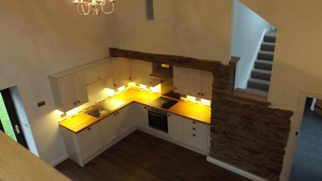 Lounge, kitchen/dini