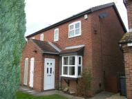semi detached home in Burns Court, York...