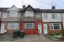 3 bed Terraced home to rent in Pearson Avenue, COVENTRY...