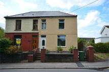 semi detached house in Church Road, Gelligaer...
