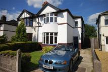 3 bed semi detached home for sale in Talke Road, Alsager...