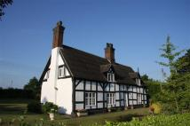 Cottage for sale in Barthomley, Cheshire